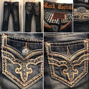 Rock Revival mid-rise curvy crop jeans